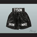 Mike Tyson Iron Mike Boxing Shorts